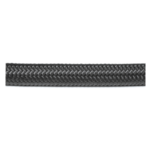 Black Braided Nylon Hose