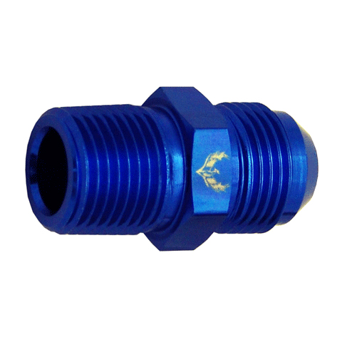 Straight Flare to Pipe Adapters